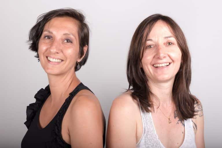 Photo de Eugénie Touré & Myriam Benhizia d'Andibo