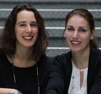 Marina Gning et Jeanne-Aurélie Delaunay