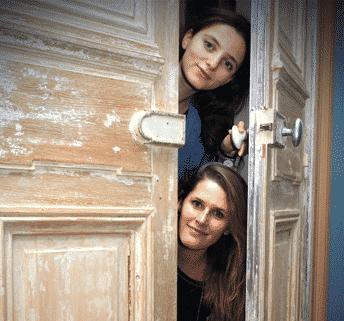 Claire Chouraqui et Diane Scemama