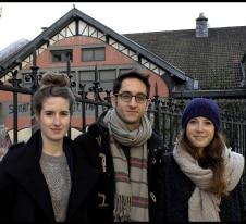 Vincent Merlet, Flavie Pezzetta et Céline Pigier