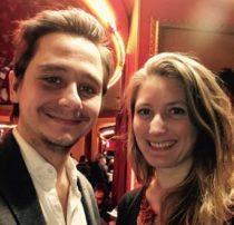Matthieu Jousset et Elizabeth Bliècq