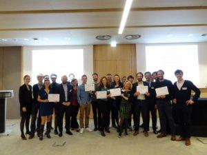 Remise des certificats d'accompagnement par les partenaires d'Antropia ESSEC